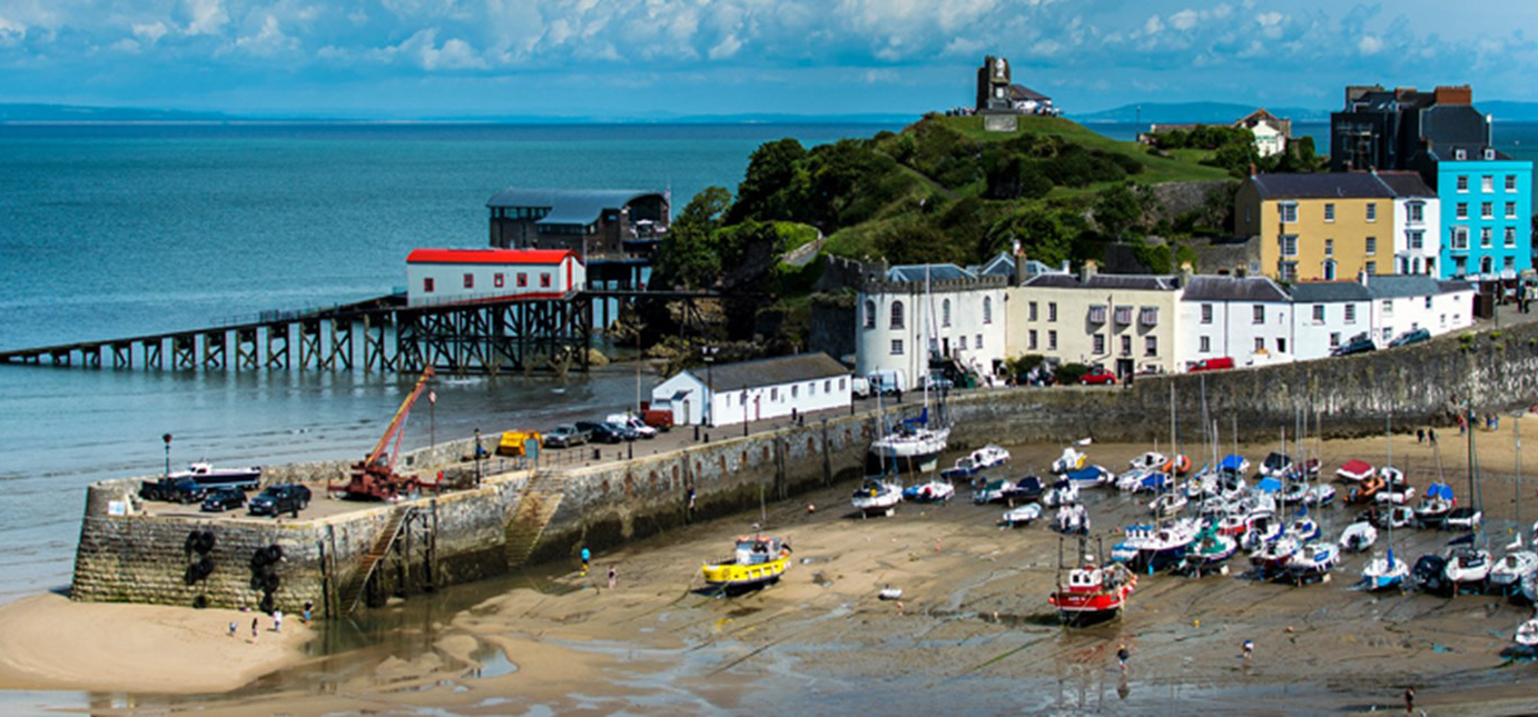 A view of Tenby Harbour